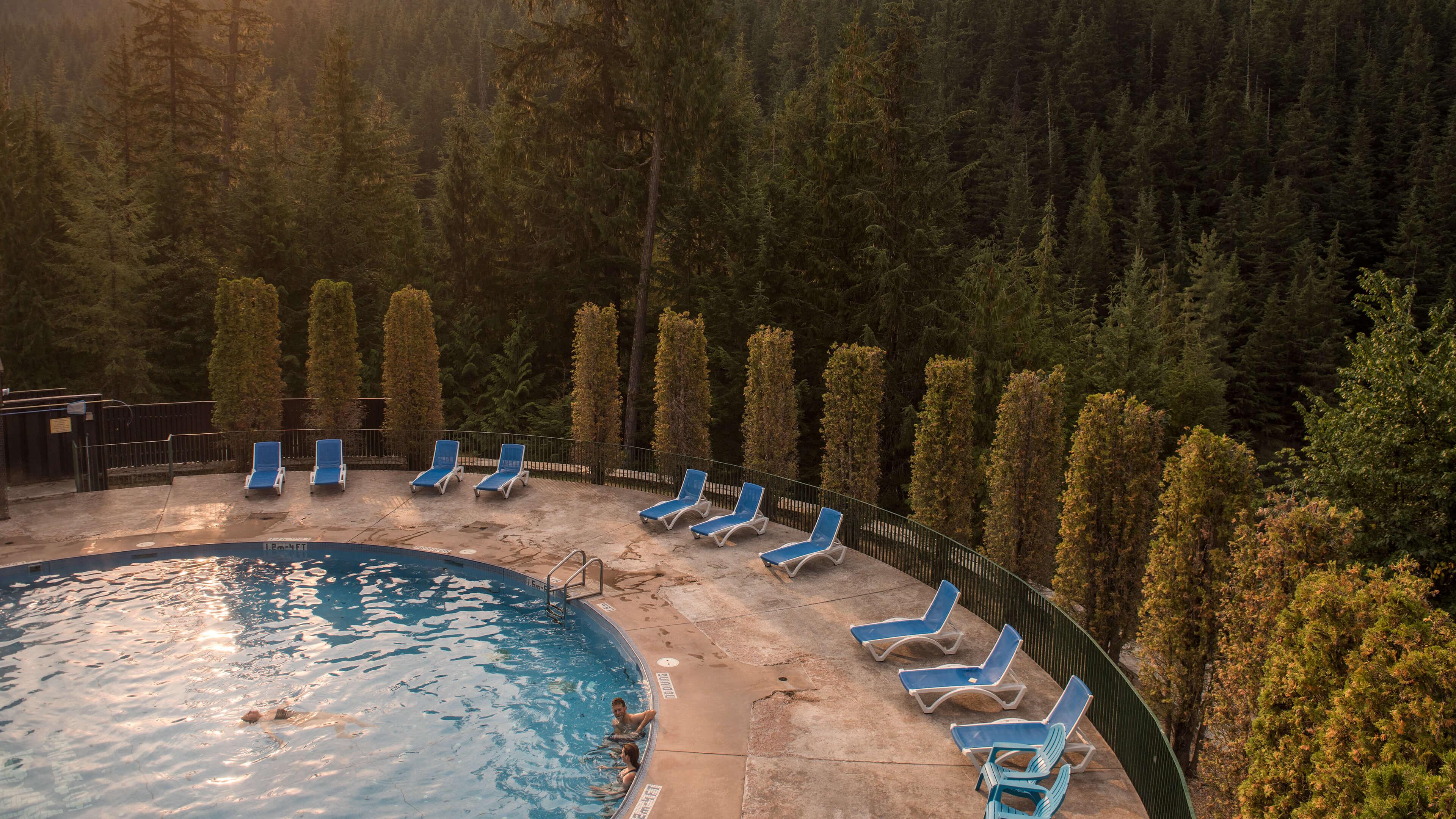 Nakusp Hot Springs in BC's Kootenay Rockies